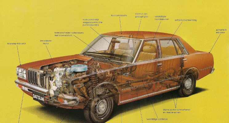 Car Cutaway diagram